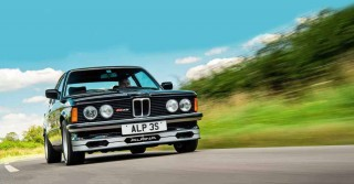 Alun Parry and his 1982 BMW E21 Alpina B6 2.8