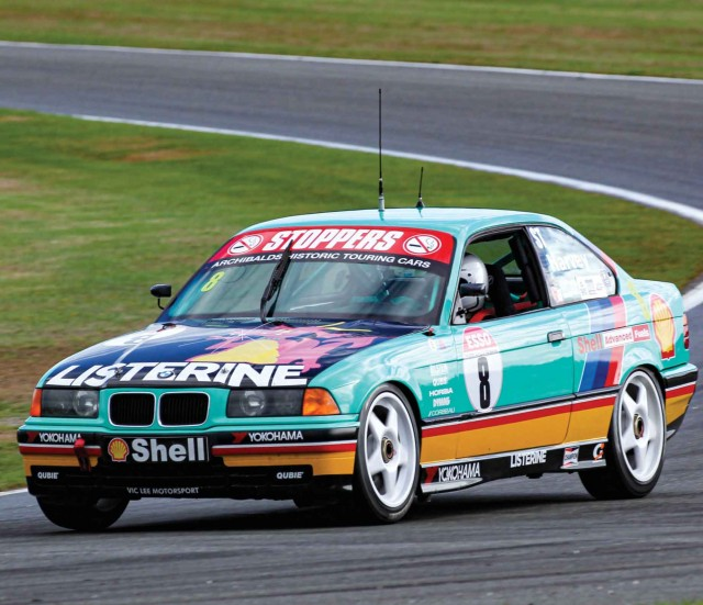 BTCC-winning 1992-spec BMW 318iS E36