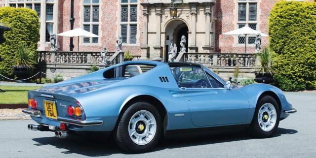 Jason Burrage's DeHavilland DVT GTS - Ferrari/Dino 246GTS Replica