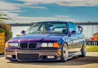 Styled and tuned BMW 328i Coupe E36/2