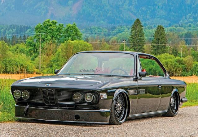 Stunning BMW 3.0CS E9 on Air-Ride