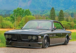 Stunning BMW 3.0CS E9 on Air-Ride