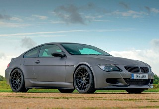 Supercharged 700bhp BMW M6 E63