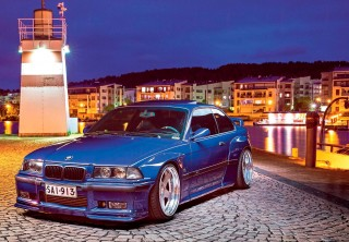 965bhp tuned Turbo wide-body BMW M3 Coupe E36