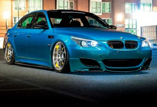 Tuned 542bhp Dinan Stage 3 BMW M5 E60