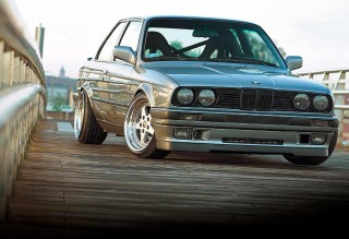4.0-litre V8 M60B40 engined BMW E30 Coupe