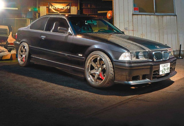 2.4-litre 240bhp S14-swapped BMW E36 Coupe from Japan