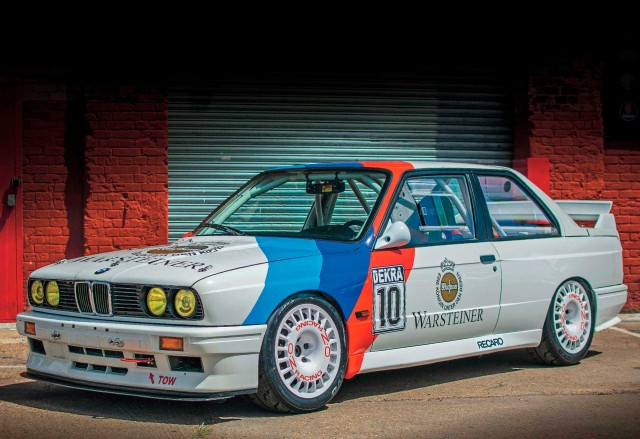 Road-legal Group A 2.3-litre S14B23-engined BMW M3 E30 recreation