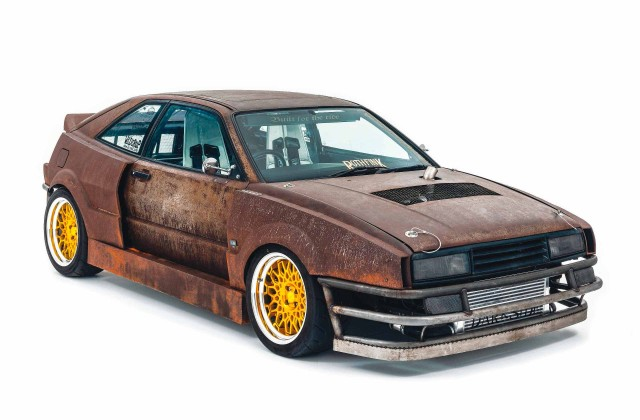 Wide-body 'rat look' twin-turbo Volkswagen Corrado 1.9 TDI Typ 53i