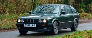 Me and my car - Pete Griffiths - 1988 BMW 325i Touring E30