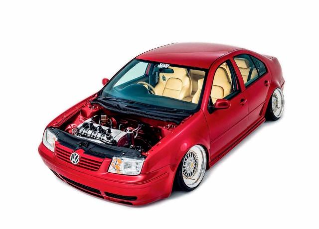 Fully rebuilt 2.8 VR6-engined Volkswagen Bora
