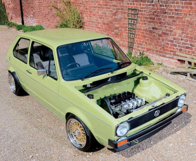 Fully rebuilt 170bhp 1.8 16v KR-engined 1979 Volkswagen Golf Mk1