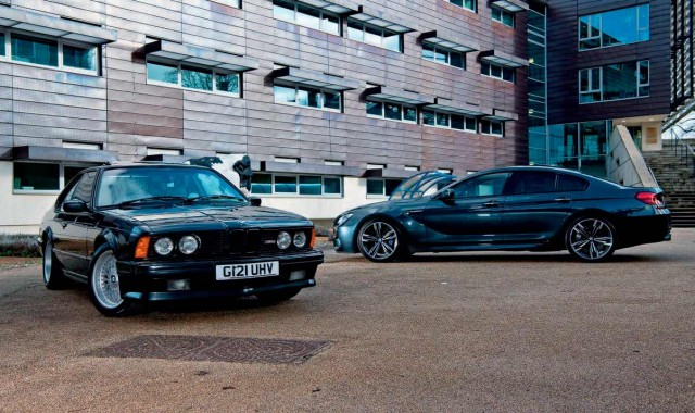 Classic 1989 BMW M635CSi E24 vs. 2015 BMW M6 Gran Coupé F06