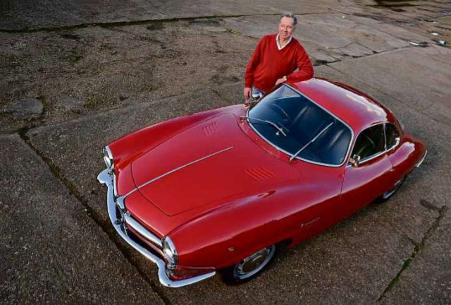 Man & Machine - Guy Davis and his 1964 Alfa-Romeo Giulia SS
