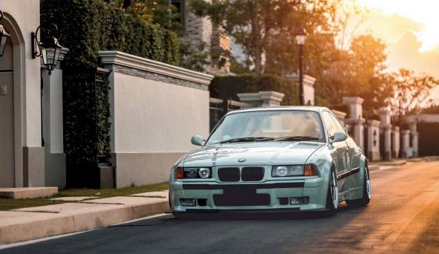 Wide Arched BMW 328i Coupe E36
