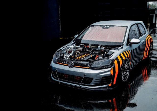 JP Performance build 1000bhp part-electric high-tech Volkswagen Golf R32 Mk7