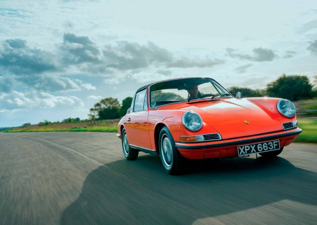 Rebuilt 1968 Porsche 911 S Targa Soft Back Window - 2-litre flat-six was enlarged to 2.4-litre and 190bhp
