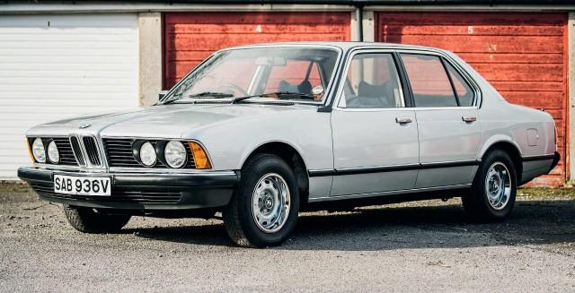 Lap of Luxury 1980 BMW 728i Automatic E23 13,500-mile 7 Series