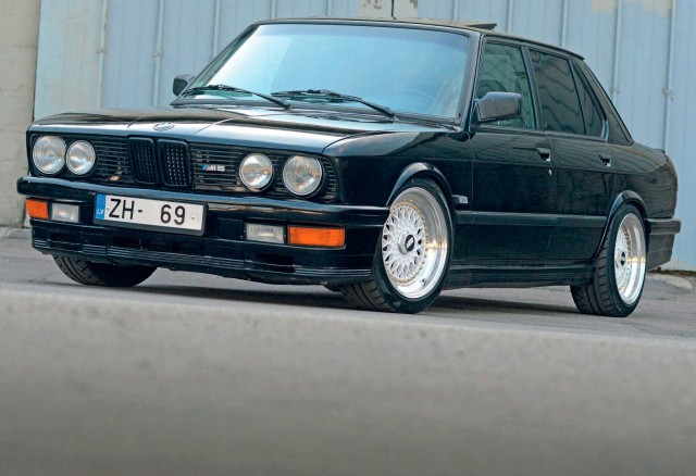 457bhp turbo S38B36-engined BMW E28