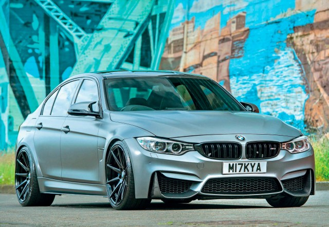 Subtly styled and seriously 700bhp powerful BMW M3 F80