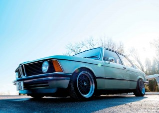 BMW E21 3-Series with Mazda 231bhp rotary engine