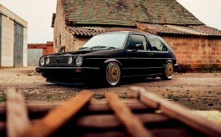 Heavily tuned turbo 312bhp Volkswagen Golf Mk2 8v