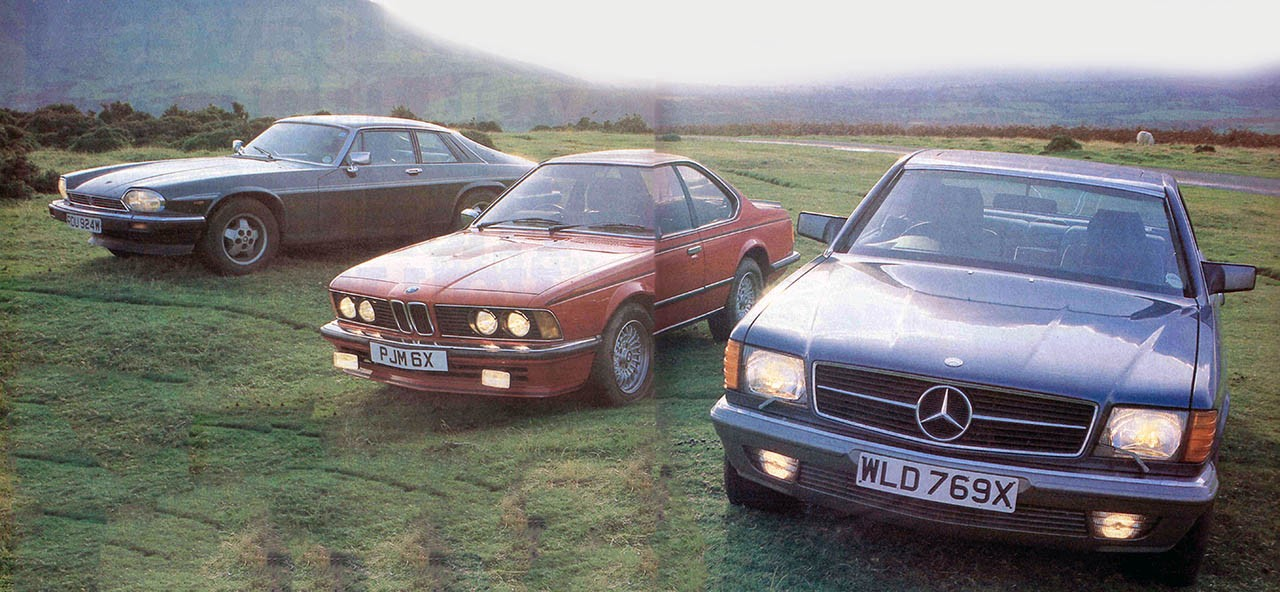 Giant drive retro luxury Coupe - 1983 BMW 635CSi E24 vs ...