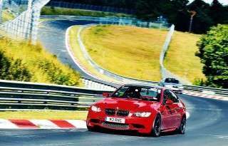 BMW E92 M3 track project - German track day