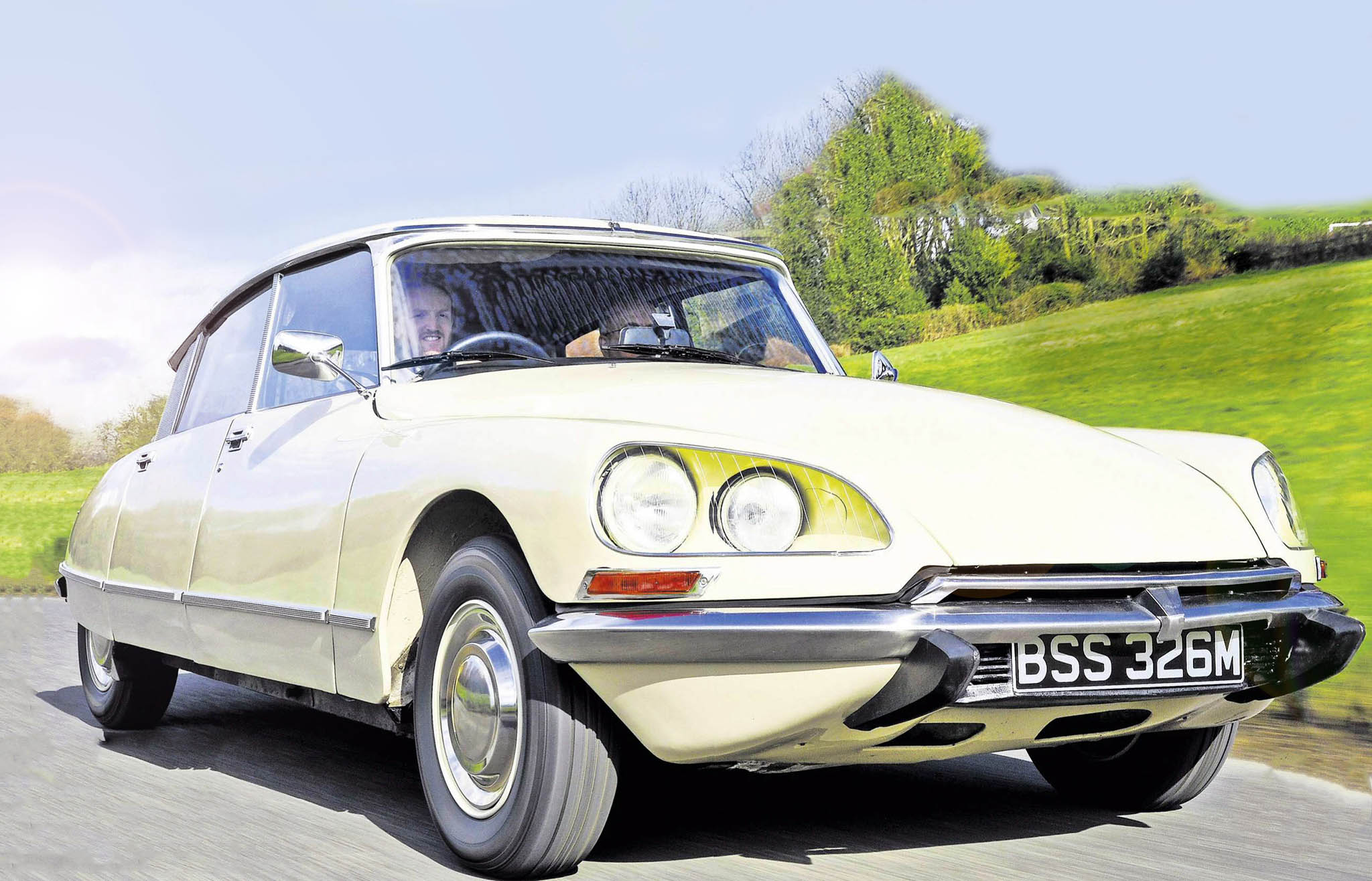 Goddess in the details 1972 Citroen DS21 driven - Drive-My Blogs - Drive