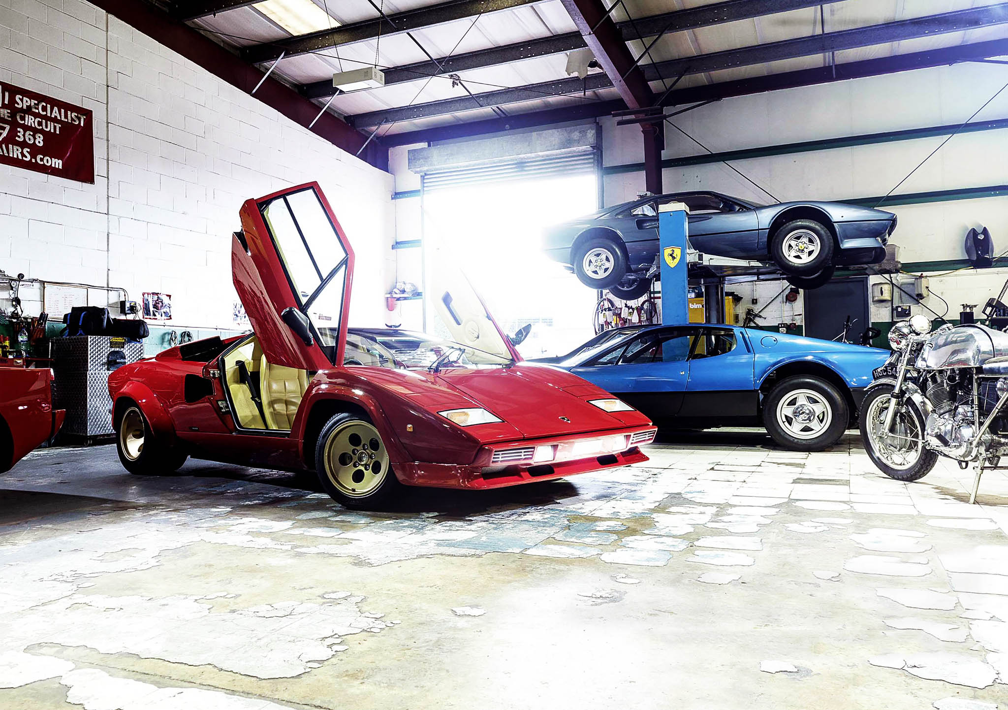 1983 Lamborghini Countach Epic Restoration