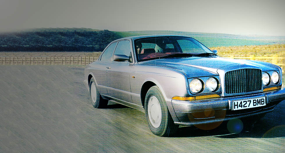 1992 Bentley Continental R giant road test  DriveMy Blogs  Drive