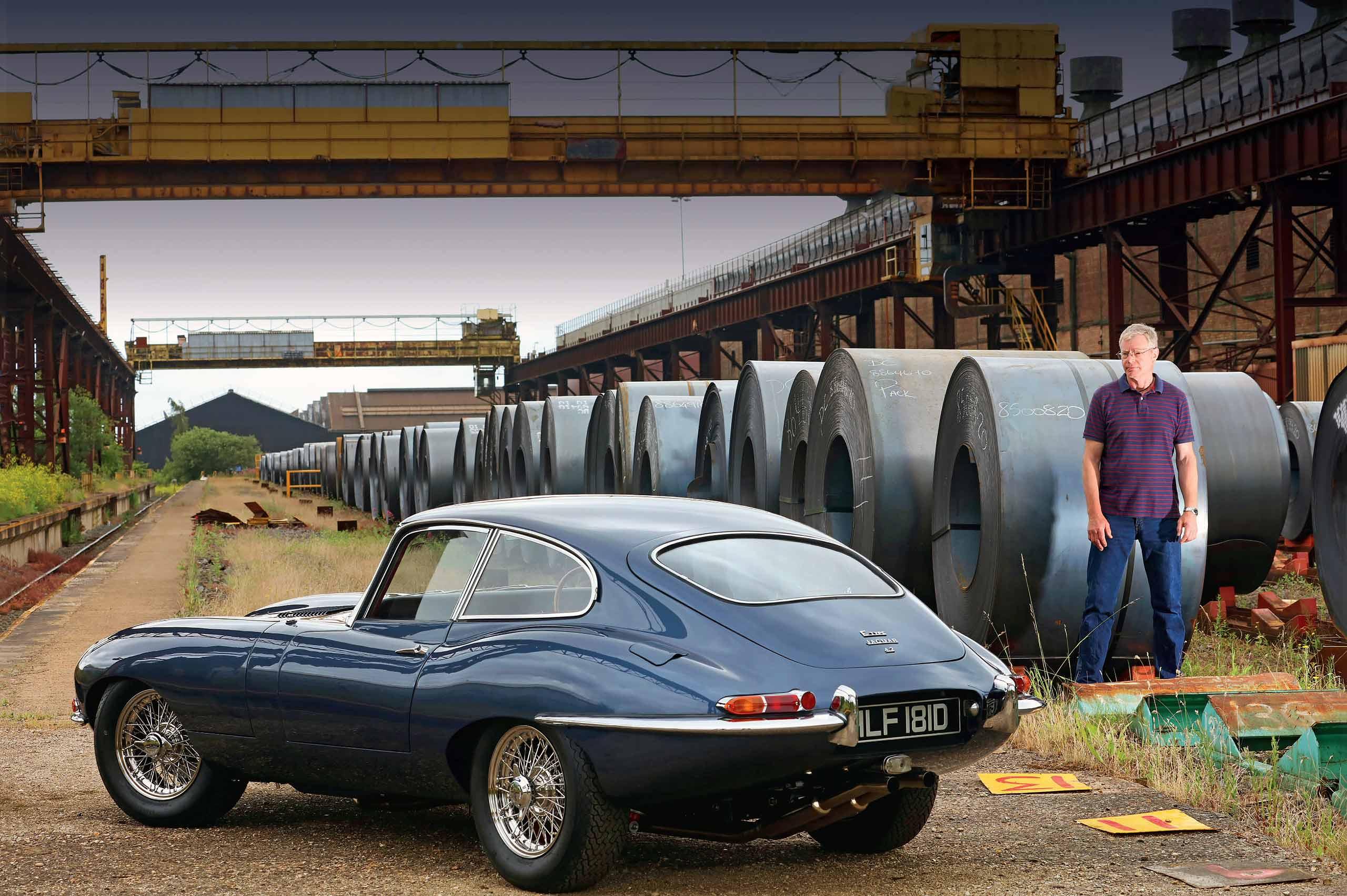 Epic Jaguar E-type restored