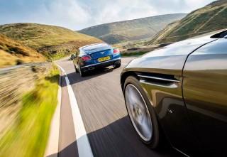 2017 Aston Martin Db11 Vs 2017 Bentley Continental Gt Speed Drive