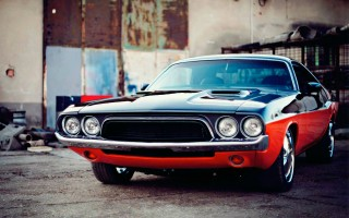 Hungarian 1972 Dodge Challenger Tuned