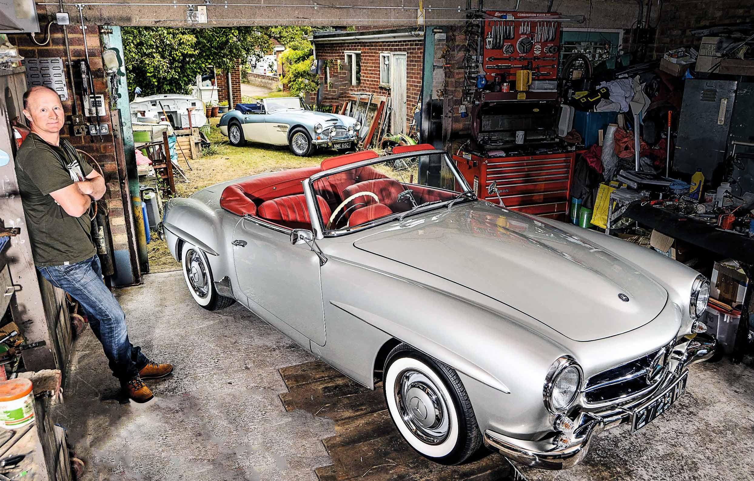 1961 Mercedes Benz 190sl W121 Epic Restoration Drive My Blogs M117 Engine