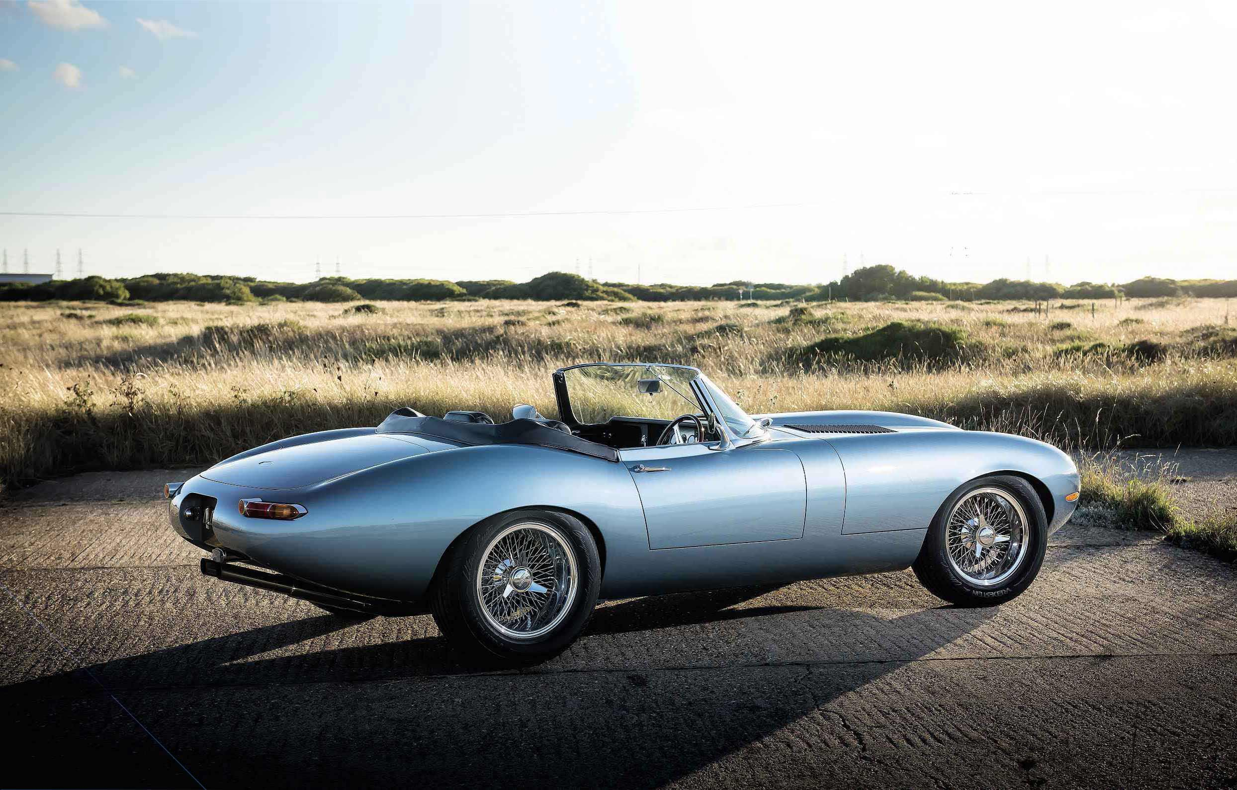 Eagle Spyder Gt Reimagined Jaguar E Type Drive My