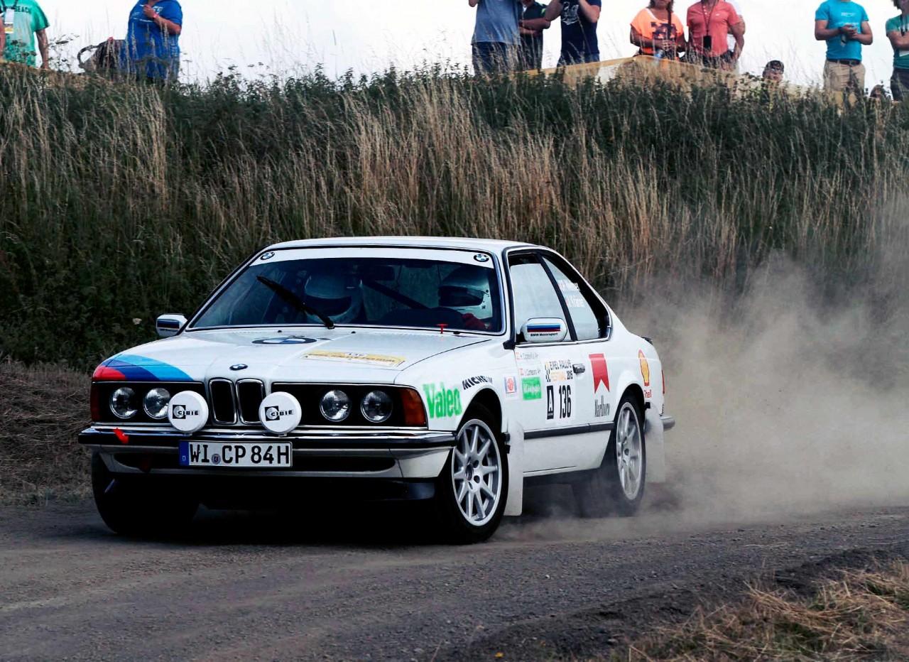 BMW 635CSi E24 Rally Car An Unusual Suspect