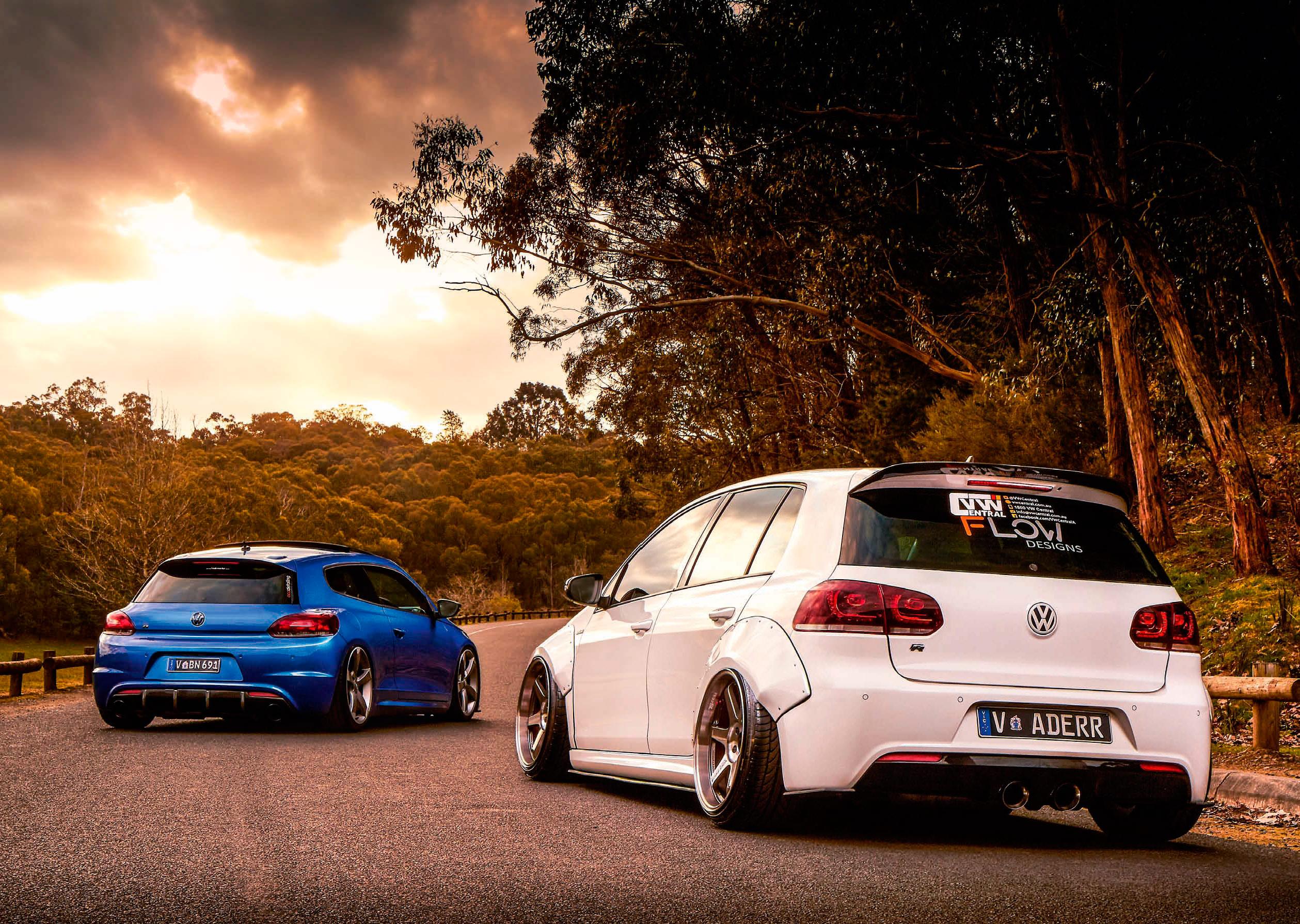 Vw golf r mk6 cars one love - Volkswagen Golf R Mk6 Vs Volkswagen Scirocco R Mk3
