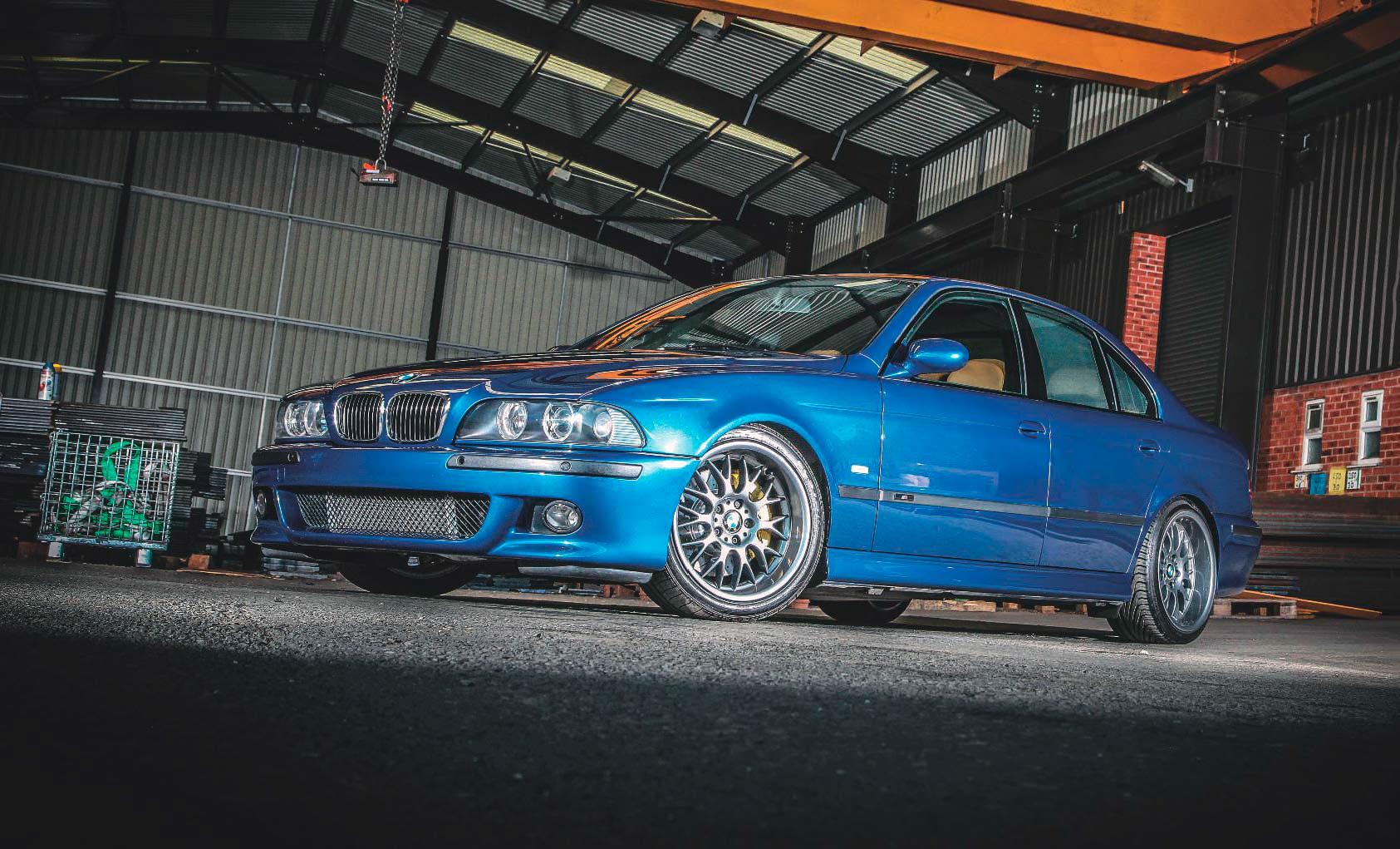 Bekend BMW 540i E39 – whith Jaguar-Eaton Blower tuned 386bhp - Drive-My #LM22