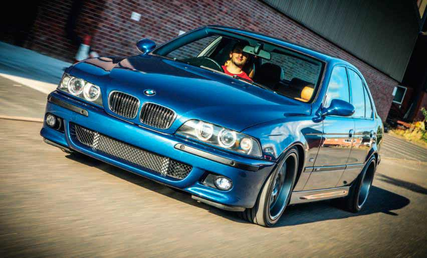 BMW 540i E39 – whith Jaguar-Eaton Blower tuned 386bhp