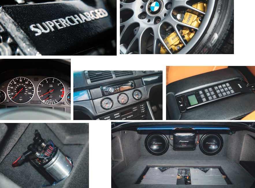 BMW 540i E39 – whith Jaguar-Eaton Blower tuned 386bhp