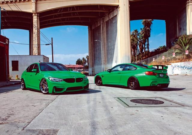 BMW M4 F82 vs. BMW M3 F80
