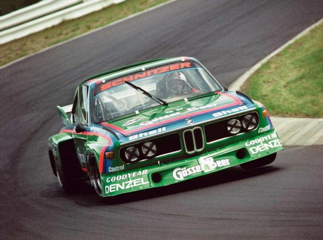 Schnitzer Gösser Beer BMW CSL E9 Group 2 Schnitzer that had been made into a gorgeous Group 5 replica