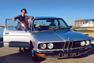 1979 6-cylinder BMW 520 Automatic E12 in Garage