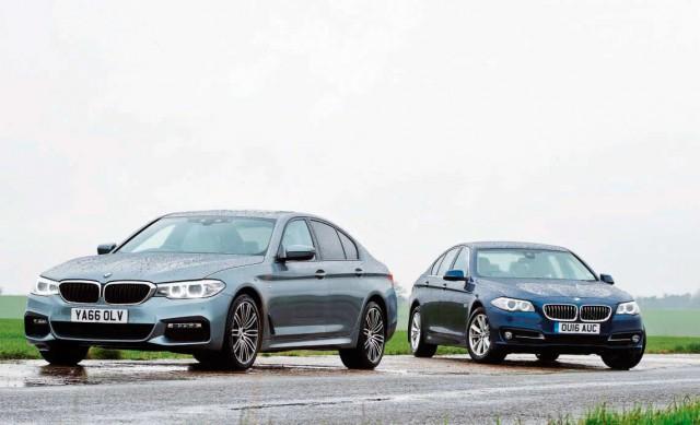 BMW 520d M Sport G30 vs. BMW 520d SE F10