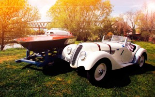 Beauty and the…Boat - BMW 328 and Berlin III