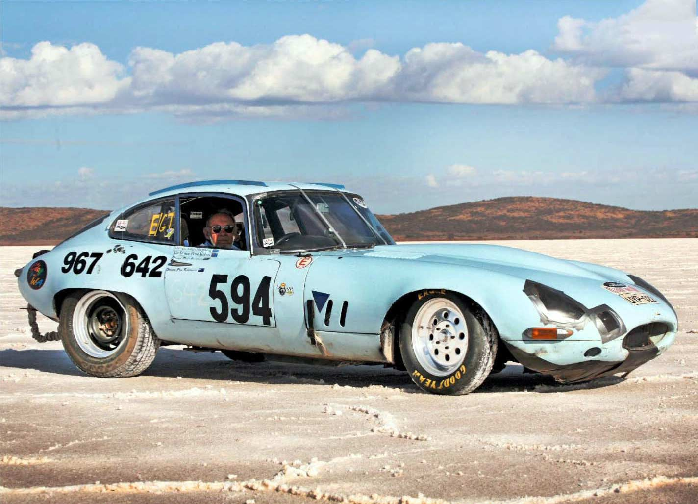 Drag Racer Daily Driver And Sd Record Challenger Jaguar E Type Life Cycle