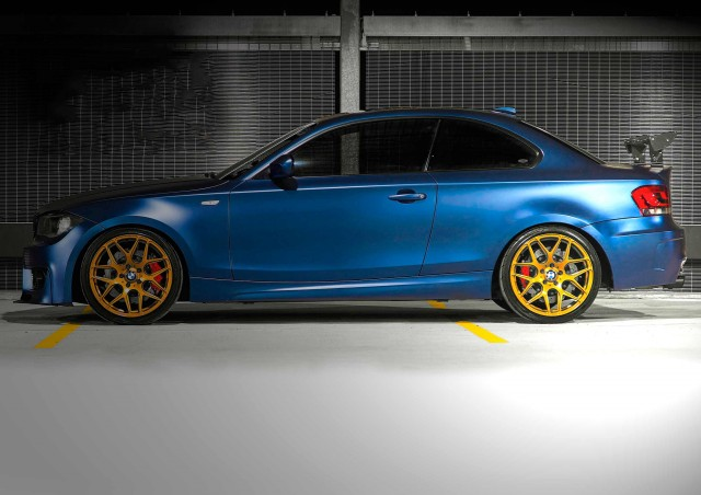 Track-focussed BMW 135i E82 470hp