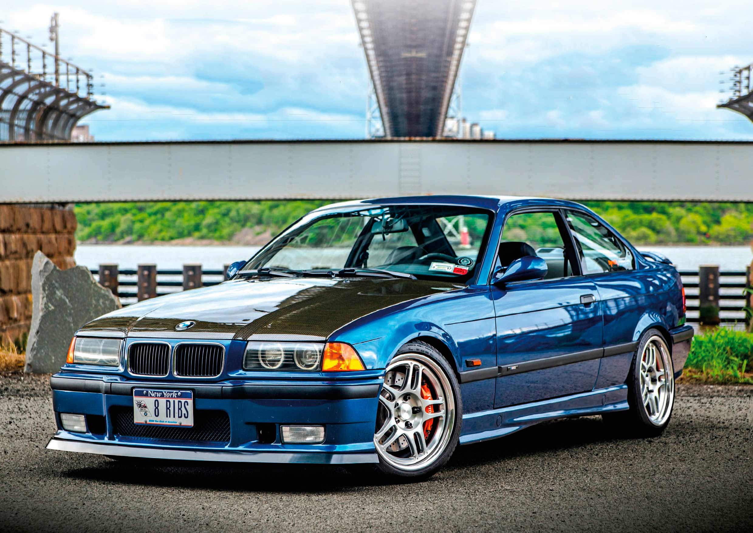 American Express supercharged 1995 BMW M3 E36 458whp Stateside ...