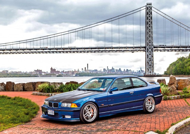 American Express supercharged 1995 BMW M3 E36 458whp Stateside street brawler